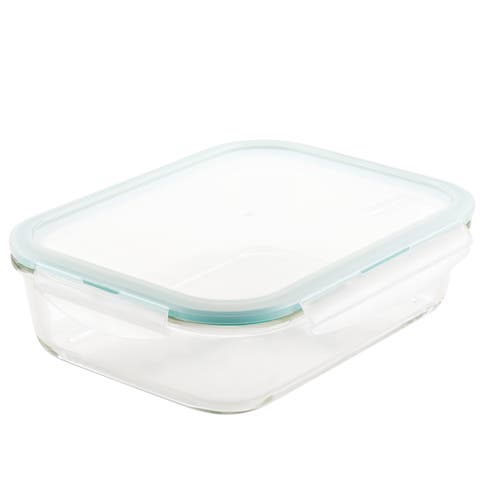 Lock and Lock Purely Better Glass Rectangular Food Storage, 51oz