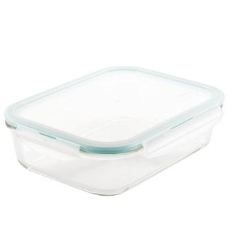Lock and Lock Purely Better Glass Rectangular Food Storage, 51oz