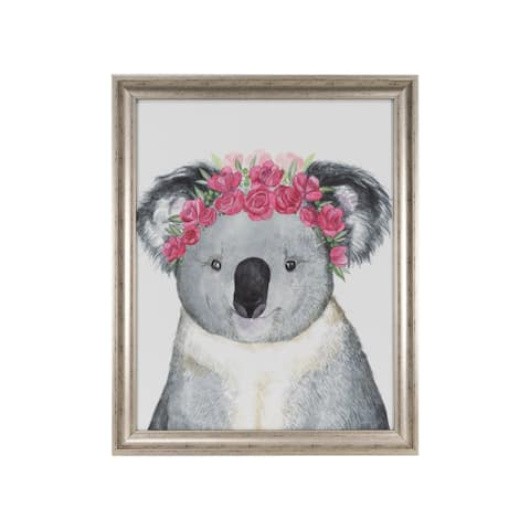 """Koala"" Framed Under Glass - 14.25W x 17.25H x .71D"