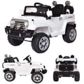 12V Kids Jeep Battery Powered Ride On Car w/ Parent Control