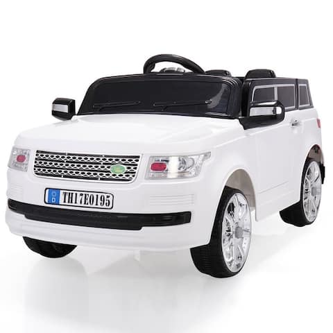 12V Electric Kids Truck Ride On Toy, Battery-Powered