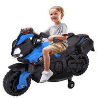 Kids 4 Wheel Electric Motorcycle Car 6V Ride On Toy Car
