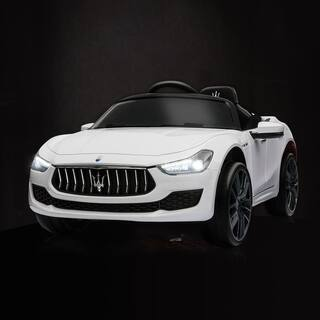 Maserati License 12V Rechargeable kids Ride On Car With MP3 / Remote