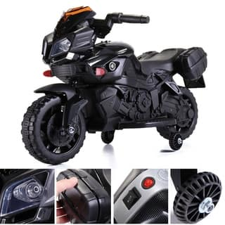 6V Kids Ride On Motorcycle Battery Powered Electric Toy