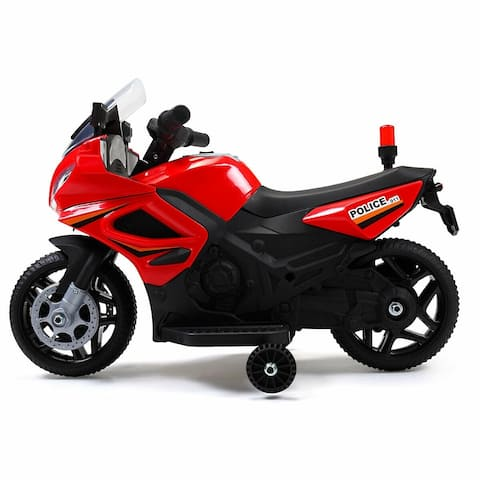 6V Kids Motorcycle Powered Electric Ride On Toy Car