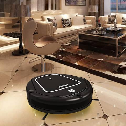 Seebest Smart Household Robotic Vacuum Cleaner Self-Charging with Water Tank and Wet/Dry Mop