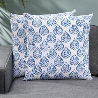 Mersey Modern Fabric Throw Pillow (Set of 2) by Christopher Knight Home