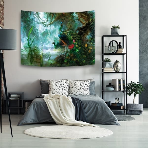 Shop Forest Tree Tapestry Wall Hanging Nature Scene