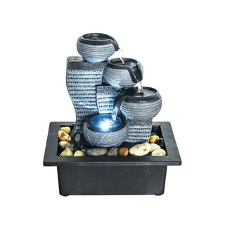 Desktop Waterfall Fountain Decor Indoor Portable Tabletop Fountains