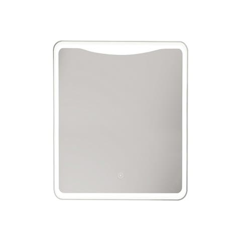 Transolid Mason LED-Backlit Contemporary Mirror with Touch Sensor