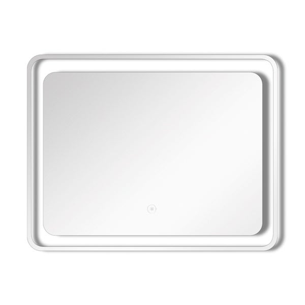Transolid Gabriel LED-Backlit Contemporary Mirror with Touch Sensor