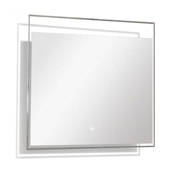 Transolid Taylor LED-Backlit Contemporary Mirror with Touch Sensor