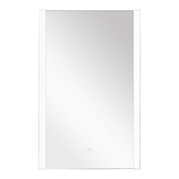 Transolid Ethan LED-Backlit Contemporary Mirror with Touch Sensor