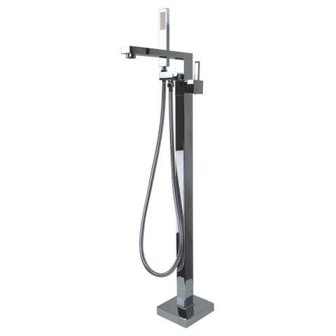 """Transolid Ardell Free Standing Tub Filler With Hand Shower - 5.91"""" x 4.72"""" x 40.94"""""""