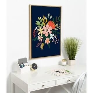 Carson Carrington C Framed Canvas
