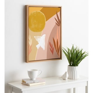Link to Kate and Laurel Sylvie Dove Framed Canvas by Kate Aurelia Holloway Similar Items in Matching Sets