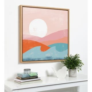 Kate and Laurel Sylvie Summer Framed Canvas By Kate Aurelia Holloway
