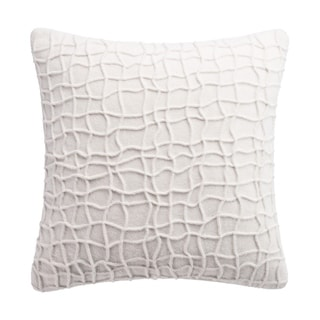 Highline by Habit  Ivory Box Pleat Dec Pillow