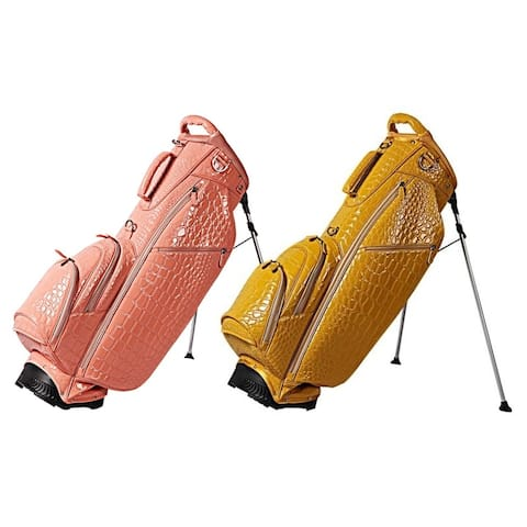 OUUL Women Alligator 5-Way Stand Bag