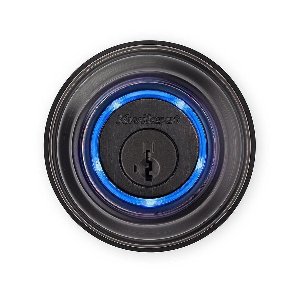 Kwikset Kevo (2nd Gen) Touch-to-Open Bluetooth Smart Lock (Bronze)