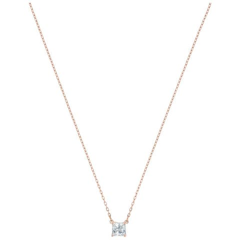 Swarovski Attract Necklace - White - Rose-gold Tone Plated - 5510698