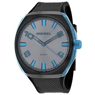 Link to Diesel Men's DZ1885 'Stigg' Grey Leather Watch Similar Items in Men's Watches