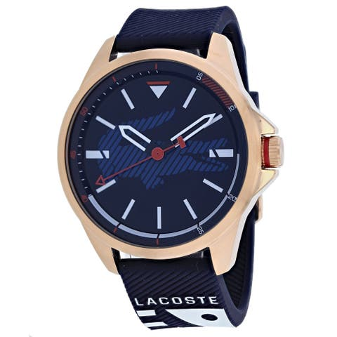 Lacoste Men's 2010964 'Analogue' Blue Silicone Watch