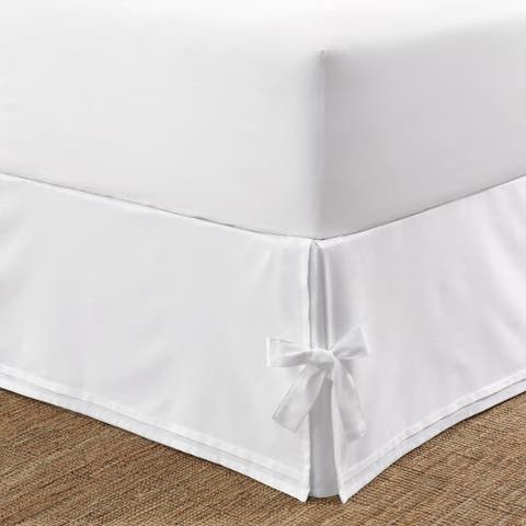 Laura Ashley Tailored Bedskirt with Corner Ties