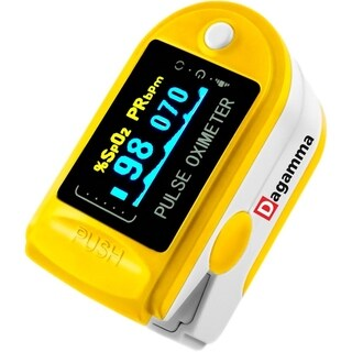 Advanced Finger Pulse Oximeter DP150 by Dagamma (Yellow)