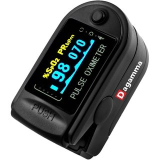 Advanced Finger Pulse Oximeter DP150 by Dagamma (Black)