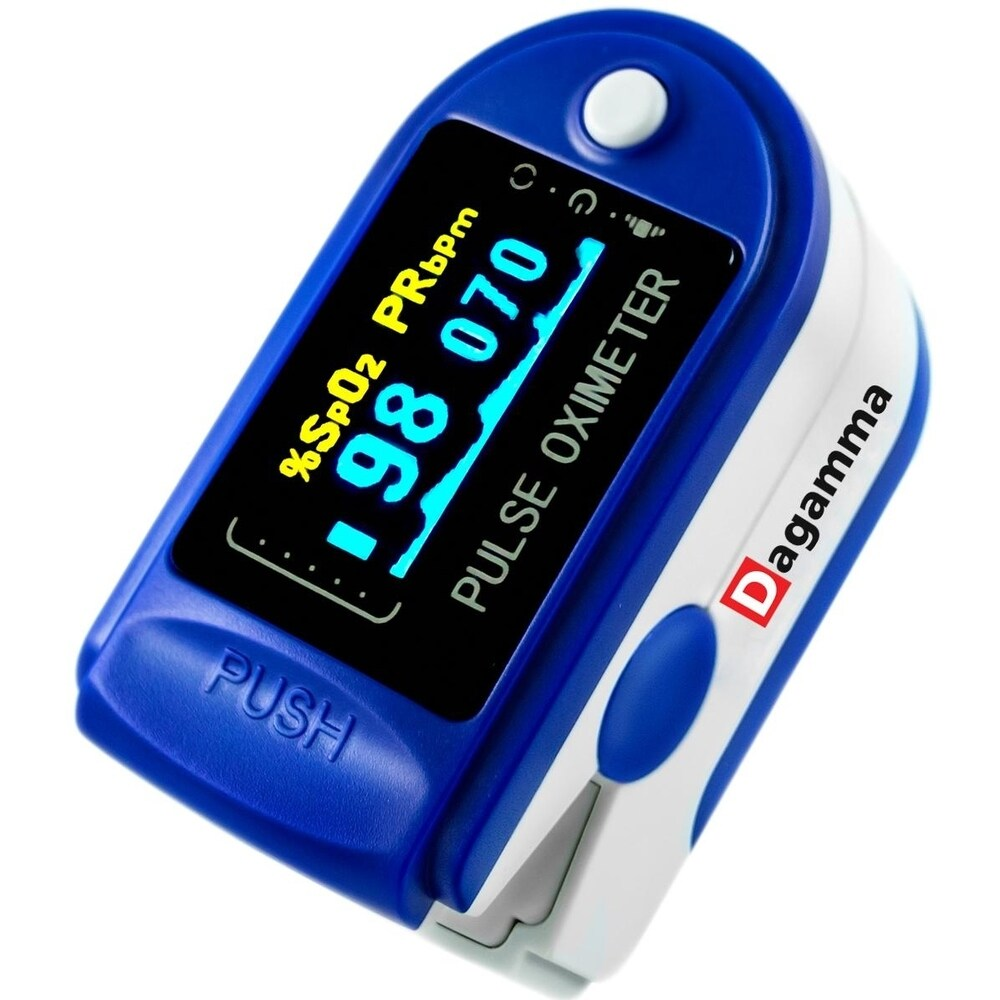 Advanced Finger Pulse Oximeter DP150 by Dagamma (White)