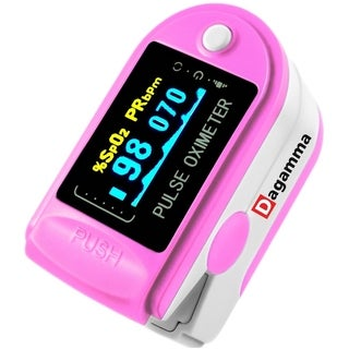 Advanced Finger Pulse Oximeter DP150 by Dagamma (Pink)