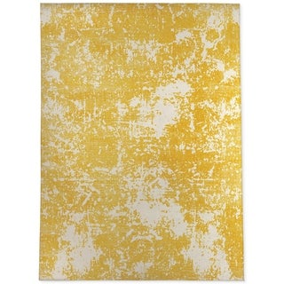PARMA YELLOW Area Rug By Kavka Designs