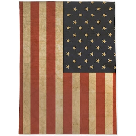 Porch & Den Pima American Flag Area Rug