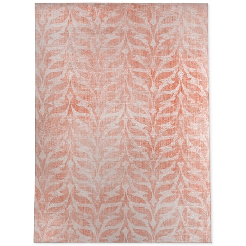 PAVIA PEACH PINK Area Rug By Terri Ellis