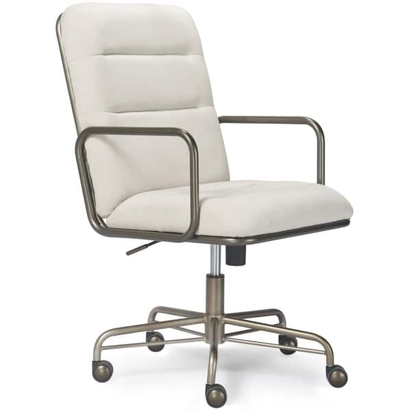 Fantastic Shop Finch Franklin Modern Leather Desk Chair Free Bralicious Painted Fabric Chair Ideas Braliciousco