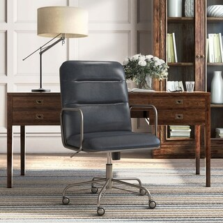 Finch Franklin Modern Leather Desk Chair