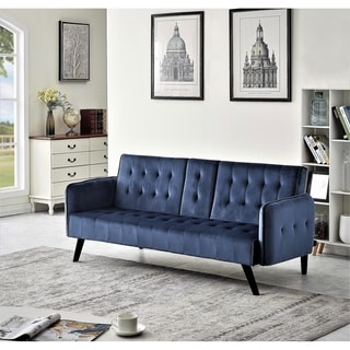 Link to Carson Carrington Inganas Convertible Sleeper Sofa Bed Similar Items in Sofas & Couches