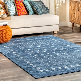 The Curated Nomad Spring Tribal Geometric Kye Area Rug