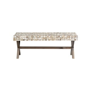 Link to East at Main's Coco Bench, Grey Wash Similar Items in Incontinence