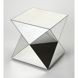 Handmade Prism Mirrored Bunching Table (India)