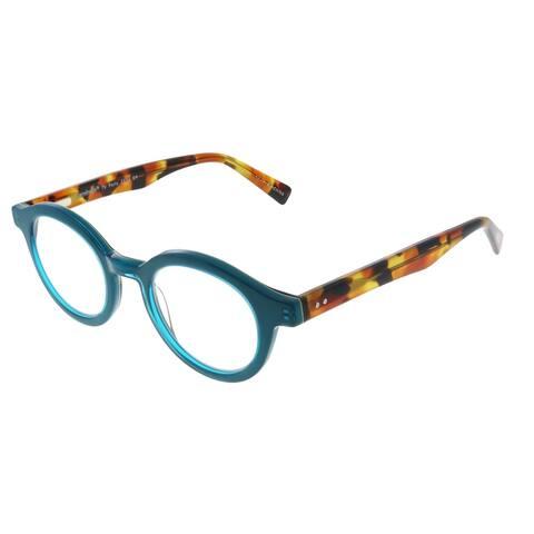 Eyebobs TV Party EB 2236 59 2.00 Unisex Teal Frame Reading Glasses 44mm