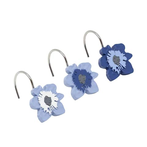 Croscill Charlotte Flower Shower Hooks