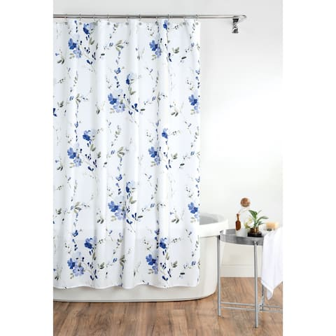 Croscill Charlotte Floral Watercolor Shower Curtain