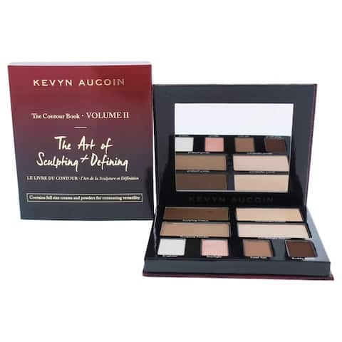 The Contour Book - The Art of Sculpting and Defining Vol II by Kevyn Aucoin for Women - 1 Pc Palette - Multi-Color