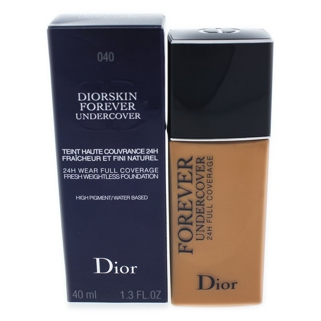 Diorskin Forever Undercover Foundation - 040 Honey Beige by Christian Dior for Women - 1.3 oz Foundation
