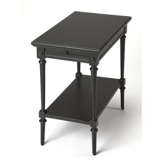 Handmade Butler Easterbrook Black End Table (Indonesia)