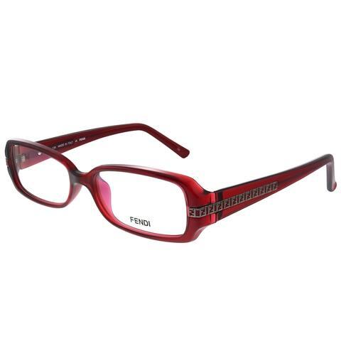 Fendi FE 932 602 53mm Womens Wine Frame Eyeglasses 53mm