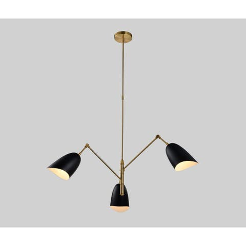 Black and Gold Pendant Light ( Chandelier)