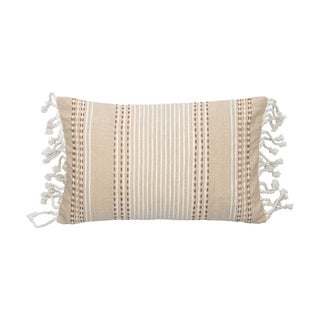 14X22 Hand Woven Nila Pillow Brown